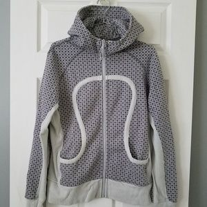 Lululemon Scuba Hoodie Jacket in Grey